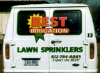 Digital Print and cut vinyl graphics for Best Irrigation
