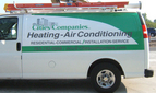 Partial wrap, digital print vinyl with protective laminate for Cities Companies Heating- Air Conditioning