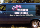 Gallery of Window Coverings - digital print and cut vinyl
