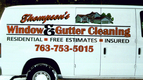 Digital print and cut vinyl for Thompson Window & Gutter Cleaning