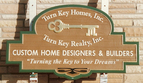 Turn Key Homes, Inc. - 5' x 8' sandblasted cedar development monument sign
