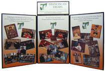 Franciscan Table Top Display