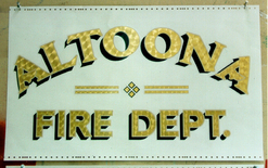 Altoona Fire Dept. 1 - Gold Leaf