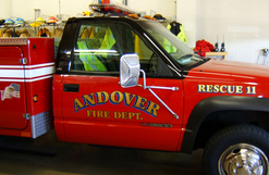 Andover Fire Dept. rescue