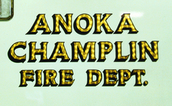 Anoka Champlin Fire Dept. 23k Gold Leaf