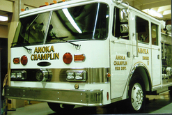 Anoka Champlin Fire Dept. Engine 5 - 23k Gold Leaf