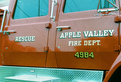 Apple Valley Fire Dept. Rescue 23k Gold Leaf