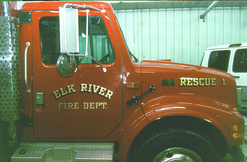 Elk River Fire Dept. Rescue 23k Gold Leaf