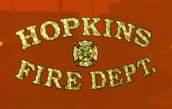Hopkins Fire Dept. 23k Gold Leaf